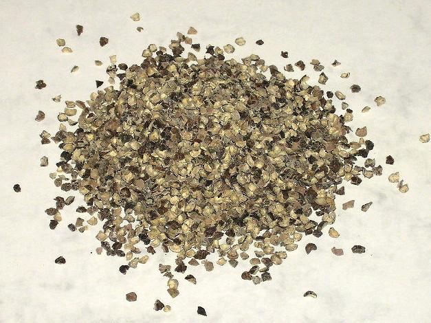 Pfeffer, schwarz, grob geschrotet, 1,5 - 2,5mm
